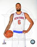 New York Knicks Tyson Chandler 2013-14 Posed Photo