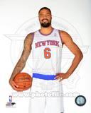 New York Knicks Tyson Chandler 2013-14 Posed Photo