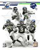 Seattle Seahawks 2013 NFC Champions Team Composite Photo
