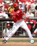 Edwin Encarnacion 2008 Batting Action Photo