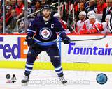 Andrew Ladd 2013-14 Action Photo