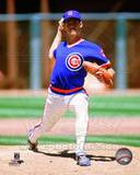 Chicago Cubs Greg Maddux 1989 Action Photo