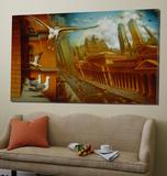 La Nouvelle Samarkand Art by Alain Cardinal