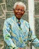 Former South African President Nelson Mandela Photo