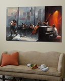 Room with a View I Poster av Willem Haenraets