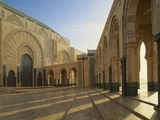 Hassan Ii Mosque, Casablanca, Morocco Photographic Print by Adam Woolfitt