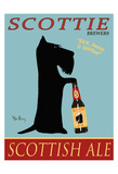Scottie Scottish Ale Collectable Print by Ken Bailey