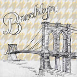 Textile Brooklyn Prints by Gina Ritter