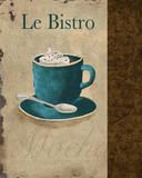 Le Bistro Prints by Elizabeth Medley