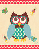 Wise Owls I Prints by Andi Metz
