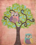 Wisdom in Tree II Poster van Andi Metz