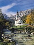 Ramsau, Bavaria, Germany Fotografisk tryk af Gavin Hellier