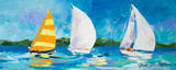 The Regatta II Prints by Jane Slivka