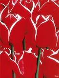 Most Beautiful Tulip IV Print by Yvonne Poelstra-Holzaus