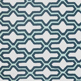 Blue Lattice Pattern IV Poster by Lanie Loreth