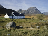 Scotland, Highlands, Glencoe, Croft by Mountains Photographic Print by Roy Rainford