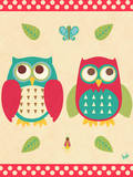 Wise Owls II Poster by Andi Metz