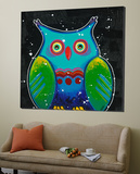 Funny Owl III Prints by Y. Hope
