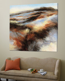 Purple Landscape I Prints by  Boersma