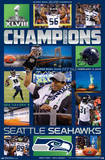 Seattle Seahawks Super Bowl XLVIII Celebration Print