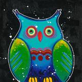 Funny Owl III Print by Y. Hope
