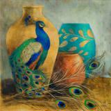 Peacock Vessels I Affiches par Lanie Loreth