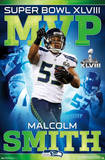 Seattle Seahawks Malcolm Smith Super Bowl XLVIII MVP Posters
