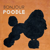 Bon Jour Poodle Prints