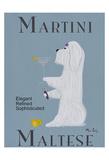 Martini Maltese コレクターズプリント : ケン・ベイリー
