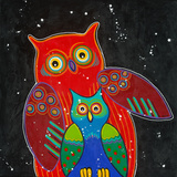 Funny Owl I Poster by Y. Hope