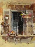 Balcony IV Art by Willem Haenraets