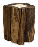 Natural Teakwood Candle - Medium* Home Accessories