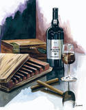 Cigar Press Art by Heather French-Roussia