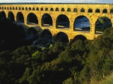 Pont Du Gard, Languedoc, France Photographic Print by Bruno Morandi