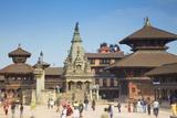 Durbar Square, Bhaktapur, UNESCO World Heritage Site, Kathmandu Valley, Nepal, Asia Photographic Print by Ian Trower