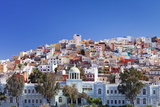 Coloured Buildings in the District of San Juan Photographic Print by Markus Lange