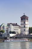 Schlossturm Tower at the Rheinpromenade, Dusseldorf, North Rhine Westphalia, Germany, Europe Photographic Print by Markus Lange