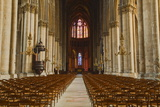The Gothic Nave of Notre Dame De Reims Cathedral Photographic Print by Julian Elliott