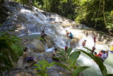 Dunns River Falls, Ocho Rios, Jamaica, West Indies, Caribbean, Central America Photographic Print by Douglas Pearson