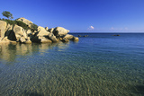 France, Corse Du Sud, Gulf of Roccapina, Shark Beach Photographic Print by Camille Moirenc