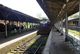 Train at Platform, Kandy Train Station, Kandy, Sri Lanka, Asia Photographic Print by Simon Montgomery