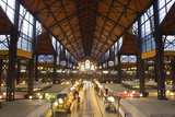 Central Markets, Budapest, Hungary, Europe Photographic Print by Doug Pearson