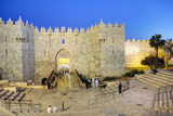 Damascus Gate, Old City, UNESCO World Heritage Site, Jerusalem, Israel, Middle East Photographic Print by Gavin Hellier
