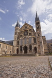 Basilique Saint Remi in the City of Reims, Champagne Ardenne, France, Europe Photographic Print by Julian Elliott