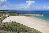 Sandy Beach at Cap Frehel, Cotes D'Armor, Brittany, France, Europe Photographie par Markus Lange