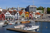 Stavanger's Picturesque Harbor, Stavanger, Rogaland, Norway, Scandinavia, Europe Photographic Print by Doug Pearson