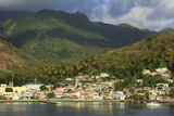 Town of Soufriere, St. Lucia, Windward Islands, West Indies, Caribbean, Central America Photographic Print by Richard Cummins