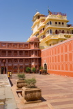City Palace Complex, the City Palace in the Heart of the Old City, Jaipur, Rajasthan, India, Asia Photographic Print by Gavin Hellier