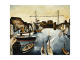 Marseilles Harbour Giclee Print