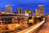 Tacoma Skyline, Washington State, United States of America, North America Photographic Print by Richard Cummins
